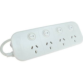 Jackson 4 Outlet Individually Switched Power Board Main Product Image