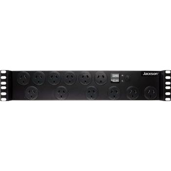 Jackson 12 Way 2RU PDU -  Power Distribution Unit with IEC Input Main Product Image