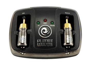 Planet Waves Universal Cable Tester - Compatible with  BNC, F-Type & RCA Connectors Main Product Image