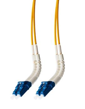 4Cabling 1.5m LC Flexi Boot - LC Flexi Boot OS1 / OS2 Singlemode Fibre Optic  Duplex Cable Main Product Image