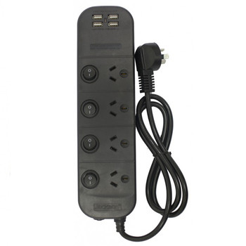 Jackson 4 Outlet Individually Switched Power Board w/ 4 x USB Main Product Image