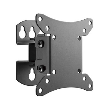 4Cabling Wall Mount Full Motion TV Bracket VESA Compliant 50x 50, 75x75, 100x100 Max Load 30KG BLACK Main Product Image
