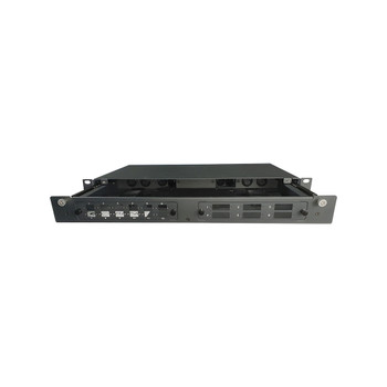 4Cabling 1RU 12/24 Port Rack Mount Fibre Optic Patch Panel FOBOT w/ Splice Cassette Main Product Image