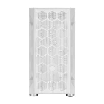 SilverStone FARA H1M Tempered Glass Micro-ATX Case - White Product Image 2