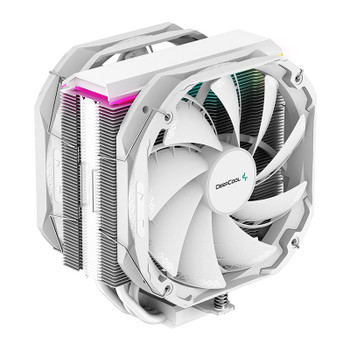 Deepcool AS500 PLUS RGB CPU Air Cooler - White Main Product Image