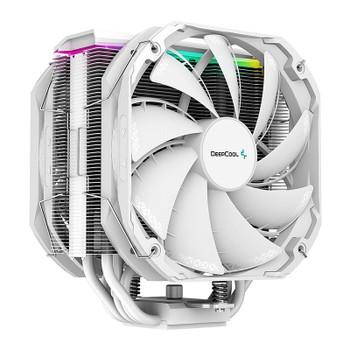 Deepcool AS500 PLUS RGB CPU Air Cooler - White Product Image 2