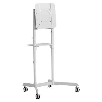 Atdec AD-TVC-70R-W Mobile Display Cart with Display Rotation Main Product Image