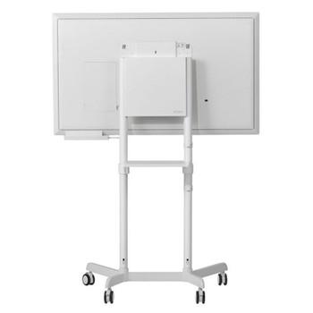 Atdec AD-TVC-70R-W Mobile Display Cart with Display Rotation Product Image 2