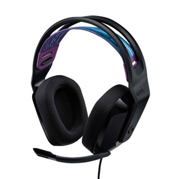 Logitech G335 Wired Gaming Headset - Black Main Product Image
