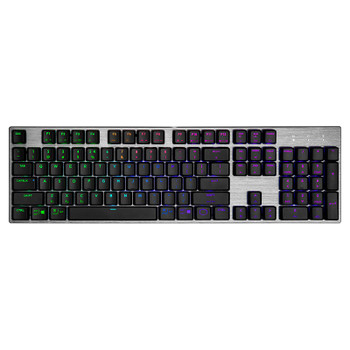 Cooler Master SK653 Wireless Gray Mechanical Gaming Keyboard - LP Red Switches Main Product Image