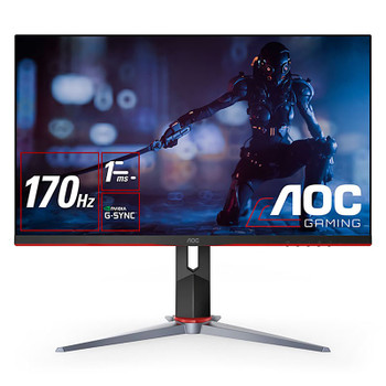 AOC Q27G2S/D 27in 170Hz WQHD 1ms HDR G-Sync Compatible IPS Gaming Monitor Main Product Image