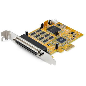 StarTech 8-Port PCI Express RS232 Serial Adapter Card - PCIe RS232 Serial Card - 16C1050 Main Product Image