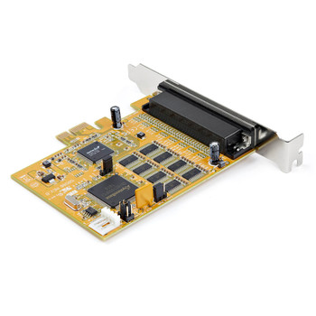 StarTech 8-Port PCI Express RS232 Serial Adapter Card - PCIe RS232 Serial Card - 16C1050 Product Image 2