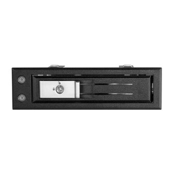 StarTech 5.25 to 3.5 Hard Drive Hot Swap Bay - For 3.5in SATA/SAS Drives - Trayless Product Image 2