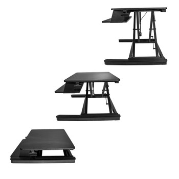 StarTech Sit-Stand Desk Converter - With 35in Work Surface Product Image 2