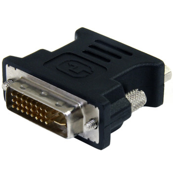 StarTech DVI to VGA Cable Adapter - Black - M/F Main Product Image