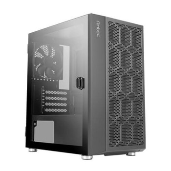 Antec NX200M Tempered Glass Micro-ATX Mini Tower Gaming Case - Black Main Product Image