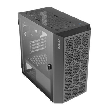 Antec NX200M Tempered Glass Micro-ATX Mini Tower Gaming Case - Black Product Image 2