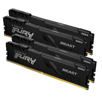 Kingston FURY Beast 128GB (2x 32GB) DDR4 3200MHz Memory Main Product Image