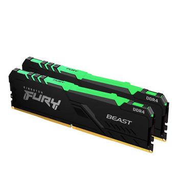 Kingston FURY Beast RGB 16GB (2x 8GB) DDR4 2666MHz Memory Main Product Image