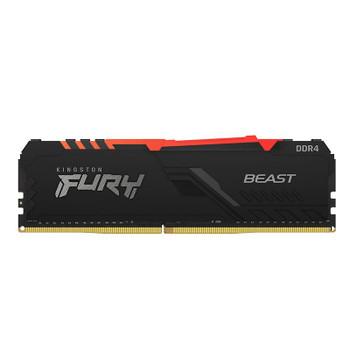 Kingston FURY Beast RGB 16GB (2x 8GB) DDR4 2666MHz Memory Product Image 2