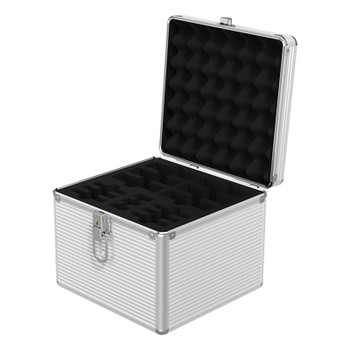 Orico BSC-LSN15 Aluminium 15 Bay 2.5in/3.5in/M.2 SSD/HDD Protective Storage Case Main Product Image