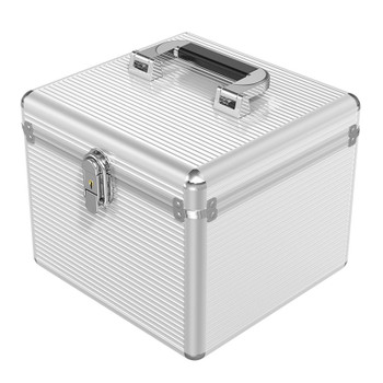 Orico BSC-LSN15 Aluminium 15 Bay 2.5in/3.5in/M.2 SSD/HDD Protective Storage Case Product Image 2