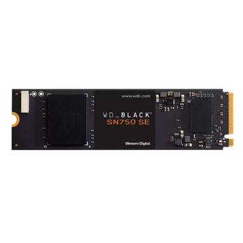 Western Digital WD Black SN750 SE 500GB M.2 2280 NVMe PCIe Gen4 SSD WDS500G1B0E Main Product Image