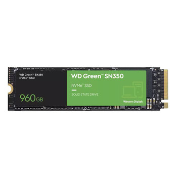 Western Digital WD Green SN350 960GB M.2 2280 NVMe SSD WDS960G2G0C Main Product Image