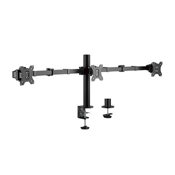 Brateck Triple Monitors Affordable Steel Articulating Monitor Arm - 17in-27in Main Product Image