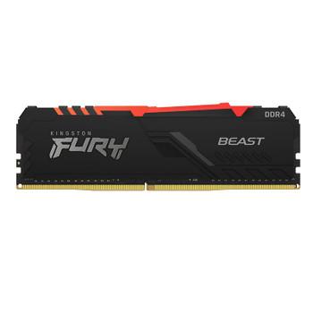 Kingston FURY Beast RGB 16GB (2x 8GB) DDR4 3200MHz Memory Product Image 2