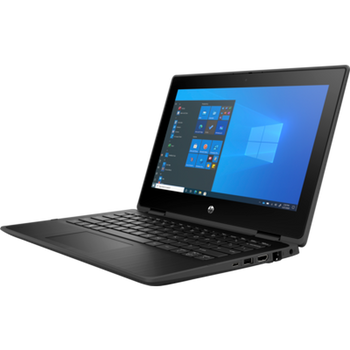 Product image for HP ProBook 11 EE X360 G7 Pen N6000 - 4GB - 128GB SSD - 11.6in Hd Sva Touch - W10P Msna - Jetblack - 1Y