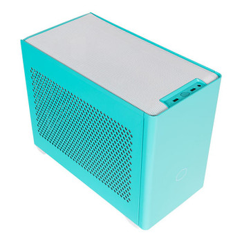 Cooler Master MasterBox NR200P Tempered Glass Mini-ITX Case - Caribbean Blue Main Product Image