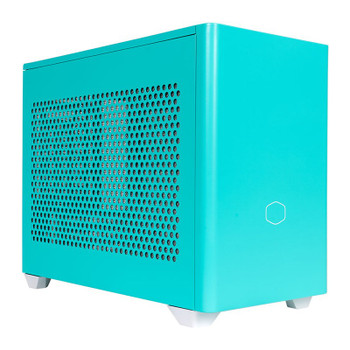 Cooler Master MasterBox NR200P Tempered Glass Mini-ITX Case - Caribbean Blue Product Image 2
