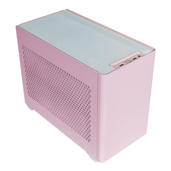 Cooler Master MasterBox NR200P Tempered Glass Mini-ITX Case - Flamingo Pink Main Product Image
