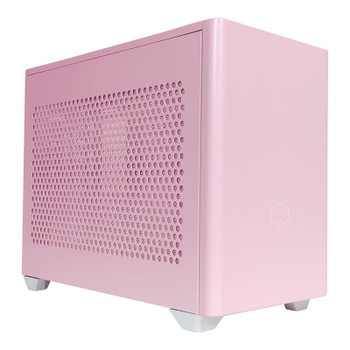 Cooler Master MasterBox NR200P Tempered Glass Mini-ITX Case - Flamingo Pink Product Image 2