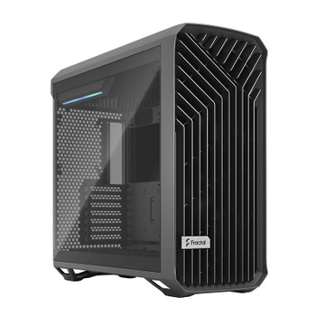 Fractal Design Torrent Tempered Glass Light Tint E-ATX Mid-Tower Case - Gray Main Product Image