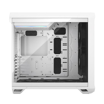 Fractal Design Torrent Tempered Glass Light Tint E-ATX Mid-Tower Case - White Product Image 2
