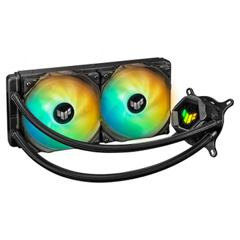 Asus TUF Gaming LC 240 ARGB AiO Liquid CPU Cooler Main Product Image