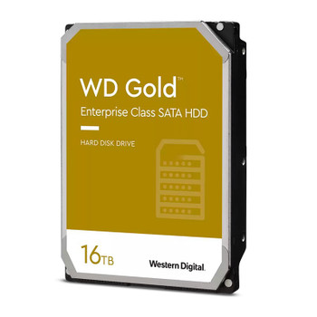 Western Digital WD WD161KRYZ 16TB Gold 3.5in SATA 6Gb/s 512e Enterprise Hard Drive Main Product Image