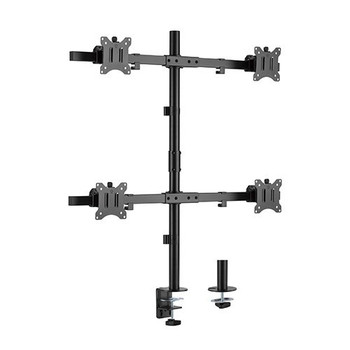 Brateck Pole Mounted Quad Monitor Mount - 17in - 32in Main Product Image