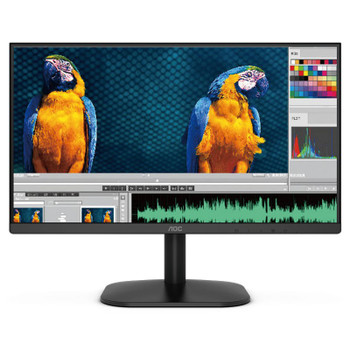 AOC 22B2HN 21.5in 75Hz FHD Flicker-Free Frameless VA Monitor Main Product Image
