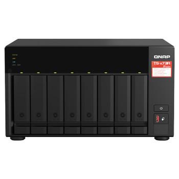 QNAP TS-873A-8G 8-Bay Diskless NAS Ryzen V1500B Quad-Core 2.2GHz 8GB Main Product Image