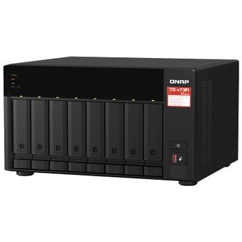 QNAP TS-873A-8G 8-Bay Diskless NAS Ryzen V1500B Quad-Core 2.2GHz 8GB Product Image 2