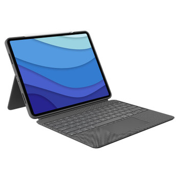 Logitech Combo Touch Backlit Keyboard Case for iPad Pro 12.9-inch (5th Gen) Main Product Image