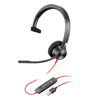 Plantronics Blackwire 3310 UC Mono USB Headset Main Product Image