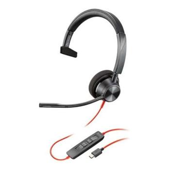 Plantronics Blackwire 3310 UC Mono USB-C Headset Main Product Image