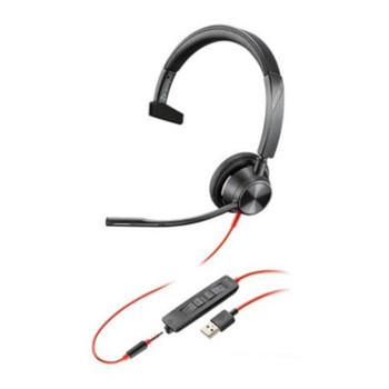 Plantronics Blackwire 3315 UC Mono USB & 3.5mm Headset Main Product Image