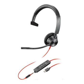 Plantronics Blackwire 3315 UC Mono USB-C & 3.5mm Headset Main Product Image