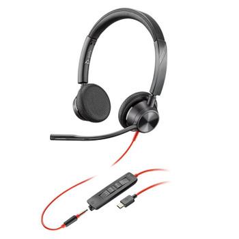 Plantronics Blackwire 3325 UC USB-C & 3.5mm Headset Main Product Image